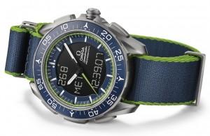 Replica-Omega-Speedmaster-Skywalker-X-33-Solar-Impulse-Limited-Edition-blue-green-1