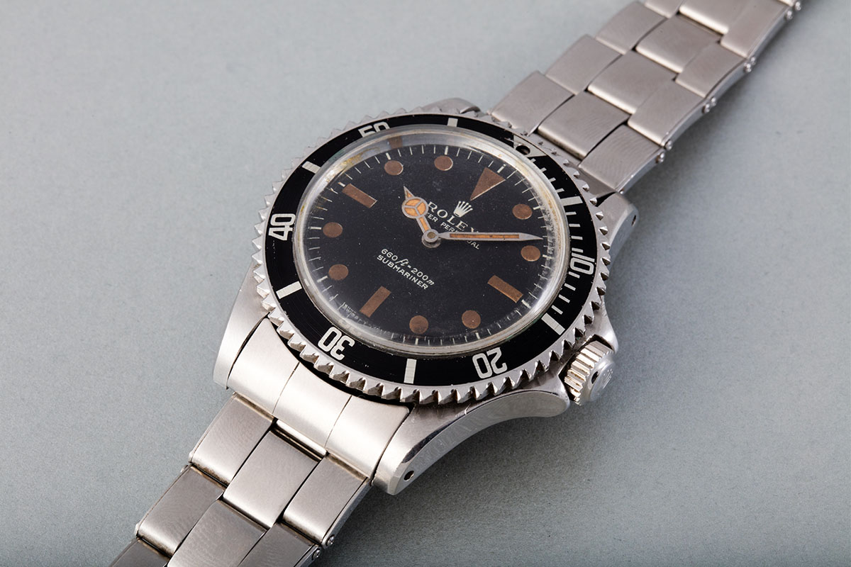 James Bond Buzz Saw Rolex Submariner 5513 from Live and Let Die - Perpetuelle